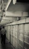 ALCATRAZ监狱,旧金山加利福尼亚 库存照片