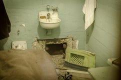 ALCATRAZ监狱,旧金山加利福尼亚 库存图片