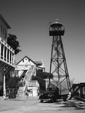 ALCATRAZ监狱,旧金山,美国- 2005年6月 免版税库存照片