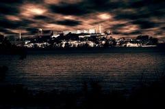 alcatraz监狱 库存照片