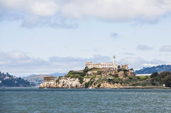 Alcatraz监狱 库存图片