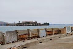 Alcatraz ö arkivfoton