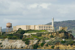 Alcatraz ö Arkivbild
