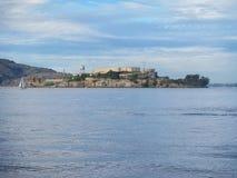 Alcatraz ö och fängelse Arkivbilder