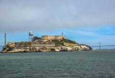 Alcatraz ö - San Francisco California Fotografering för Bildbyråer