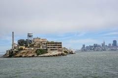 Alcatraz ö - San Francisco California Arkivbilder