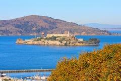 alcatraz νησί Στοκ Εικόνες