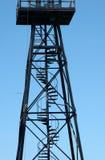 alcatraz πύργος φρουράς στοκ φωτογραφία