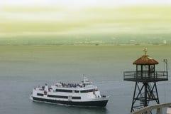 alcatraz курсирует francisco san стоковое изображение rf