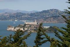 Alcatraz Сан-Франциско Стоковое Изображение