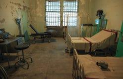 Alcatraz -医院病房室 库存图片