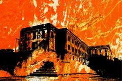 alcatraz Στοκ Φωτογραφία