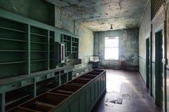 Alcatraz医院 免版税图库摄影