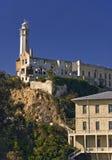 Alcatraz Abdeckung-Kontrollturm Lizenzfreies Stockfoto