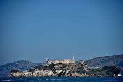 Alcatraz. Alcartaz Island in the San Francisco Bay, the former prison Stock Photography