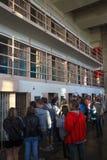 Alcatraz-Ausflug von D-Block-Zellen Lizenzfreies Stockfoto