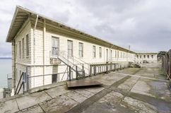 Alcatraz Building 64, San Francisco, California Stock Photos