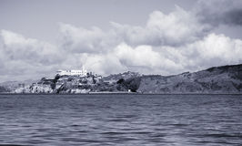 Alcatraz BW Stock Photography