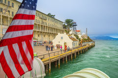 Alcatraz California penitentiary Royalty Free Stock Photo