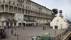 Alcatraz California penitentiary stock footage