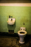 Alcatraz cela więzienna Zdjęcia Stock