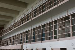 Alcatraz cell, San Francisco Royalty Free Stock Photography