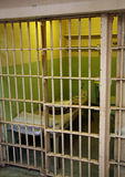 Alcatraz Cell Royalty Free Stock Images