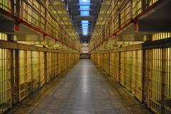 Alcatraz celler Royaltyfri Foto