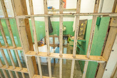 Alcatraz Clarence Anglin cell Stock Images