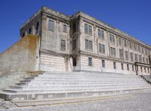 Alcatraz Courtyard Royalty Free Stock Photos