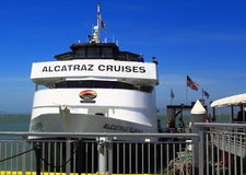 Alcatraz Cruise Boat Royalty Free Stock Images