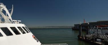 Alcatraz Cruises in Port of San Francisco, California USA Royalty Free Stock Images