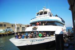 Alcatraz Cruises in San Francisco Royalty Free Stock Images