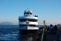 Alcatraz Cruises in San Francisco Royalty Free Stock Photos