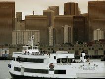 Alcatraz Cruises in San Francisco Stock Images