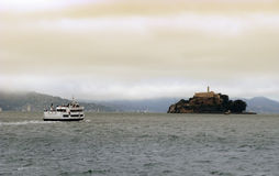 Alcatraz Cruises in San Francisco Stock Image