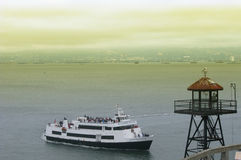 Alcatraz Cruises in San Francisco Royalty Free Stock Image