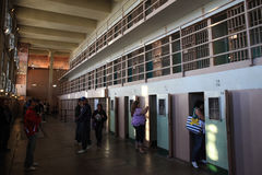 Alcatraz D-Block Cells Royalty Free Stock Image