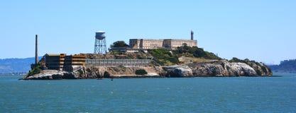 Alcatraz-` das Felsen ` Stockfoto