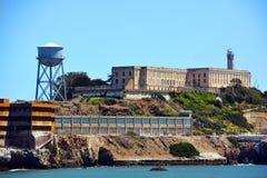 Alcatraz der Felsen Lizenzfreie Stockfotos
