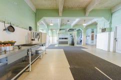 Alcatraz Dining Hall, San Francisco, California royalty free stock photo