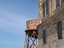 alcatraz dystansowa więzienia wierza woda Obrazy Stock