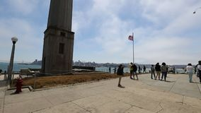 Alcatraz Eagle Plaza stock video