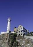 ALCATRAZ-FÄNGELSE, SAN FRANCISCO KALIFORNIEN Royaltyfri Bild