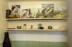 ALCATRAZ-FÄNGELSE, SAN FRANCISCO KALIFORNIEN Arkivbild
