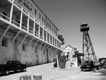 ALCATRAZ-FÄNGELSE, SAN FRANCISCO, USA - JUNI 2005 arkivfoton