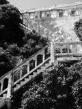 ALCATRAZ-FÄNGELSE, SAN FRANCISCO, USA - JUNI 2005 royaltyfri fotografi