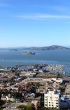 alcatraz Francisco SAN Στοκ φωτογραφία με δικαίωμα ελεύθερης χρήσης