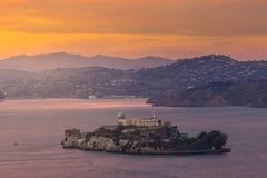 alcatraz Francisco wyspa San Fotografia Stock