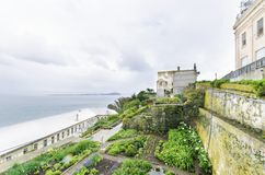 Alcatraz Garden, San Francisco, California Royalty Free Stock Image